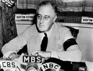 President Franklin Delano Roosevelt in 1941